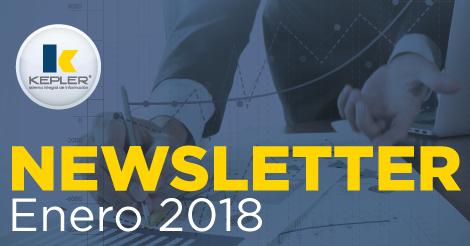 Newsletter Enero 2018