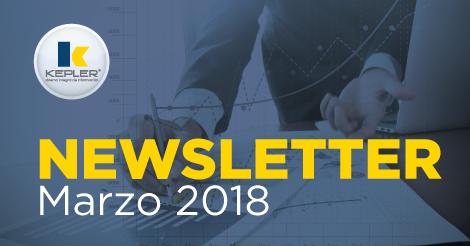 Newsletter Marzo 2018