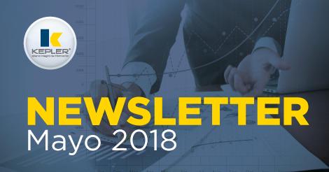 Newsletter Mayo 2018