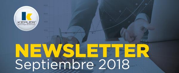 Newsletter Septiembre 2018